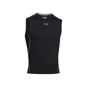 アンダーアーマーヒートギアコンプレッションSL 1257469001ユニバーサルサマーメンズTシャツ