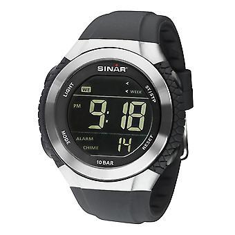 SINAR Youth Watch Wristwatch Digital Quartz Unisex Silicone Strap XM-21-19