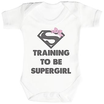 Training To Be Super Girl - Baby Bodysuit