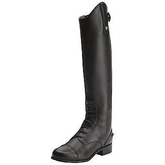 Ariat Youth Heritage Contour Field Zip Long Riding Boots - Czarny