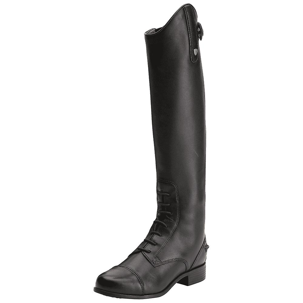 Ariat Youth Heritage Contour Field Zip Long Riding Boots - Black w1OI2