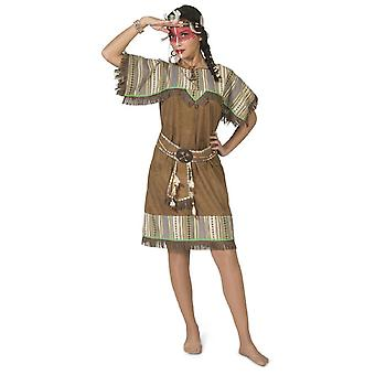 Manitu Indian Dress Women's Costume Wild West Costume Carnaval des Femmes