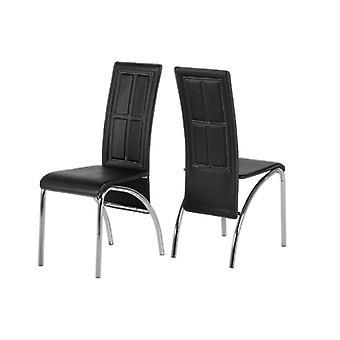 A3 Stuhl Schwarz Pvc/Chrom