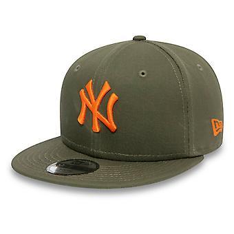 Nieuwe tijdperk 9Fifty SnapBack Kids Cap-New York Yankees Olive