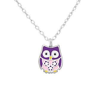 Owl - 925 Sterling Silver Necklaces - W30921x