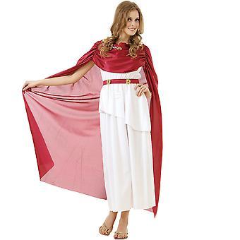 Romersk Kejserinden voksen kostume, S