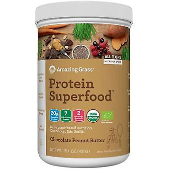 Amazing Grass Protein Superfood Chocolate Peanut Butter 430 g