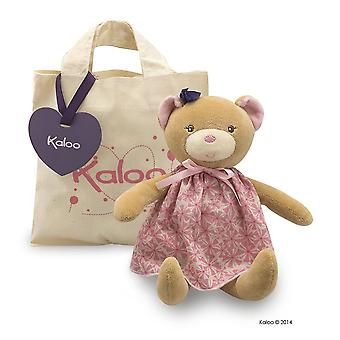 Bambola rosa orso Kaloo Petite Plus Tote Bag 0 + peluche