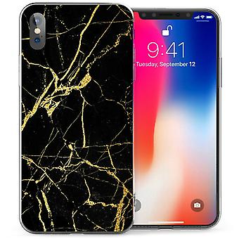 Mobile shell iPhone X Xs - Marble gold