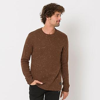 Animal clothing men's smedmore knitwear coffee brown cl9wq106