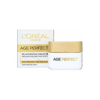 L'Oreal Age Perfect Re Hydrating Cream Day 50ml Soya