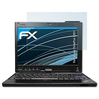 atFoliX Glass Protector compatible with Lenovo ThinkPad X201 Glass Protective Film 9H Hybrid-Glass