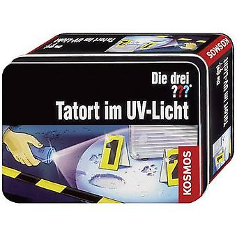 Kosmos 631925 Die drei ??? - Tatort im UV-Licht Science kit (sett) 8 år og over