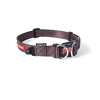 Ezydog Collar Doubleup Marrón (Dogs , Collars, Leads and Harnesses , Collars)
