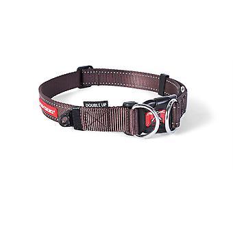 Ezydog Collar Doubleup Marrón (Honden , Halsbanden en Riemen , Halsbanden)