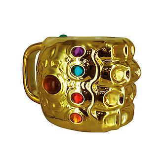 Infinity Gauntlet Shaped Large Mug Marvel Comics Design Coffee & Tea Cup