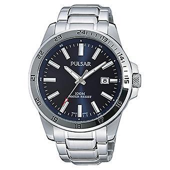 Cor aço, do pulsar PS9331X1-masculino-relógio de pulso,: prata