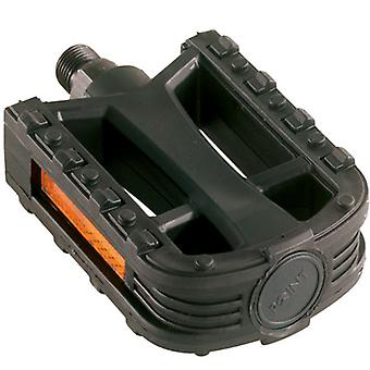 Point Anti-Slip Plastic Bicycle Pedals // City/Trekking