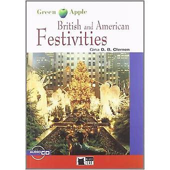 Green Apple: British and American Festivities + Audio CD