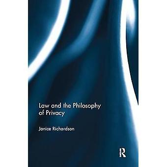 リチャードソン ・ ジャニスがプライバシーの哲学と法律
