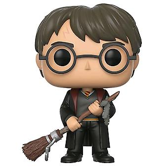 Harry Potter Harry med Firebolt US Exclusive Pop!