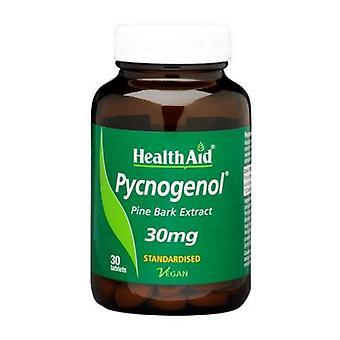 HealthAid Pycnogenol Extrakt 30mg Tabletten 30 (804205)