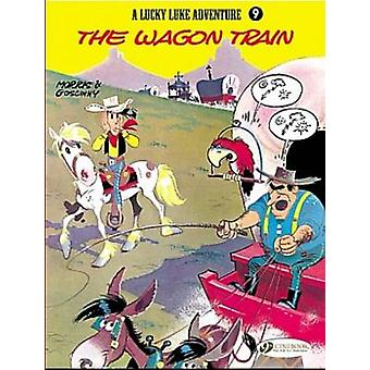 Lucky Luke Wagon Train v. 9 by Goscinny & Illustrated by Morris