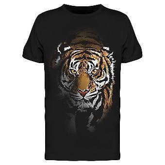 Tiger Walking Shadow Tee Men's -Kuva Shutterstock