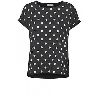 b.young Spot Print Bluse