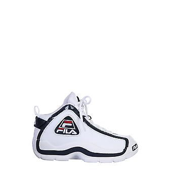 Fila 101078801m Mænd's Hvide Læder Sneakers