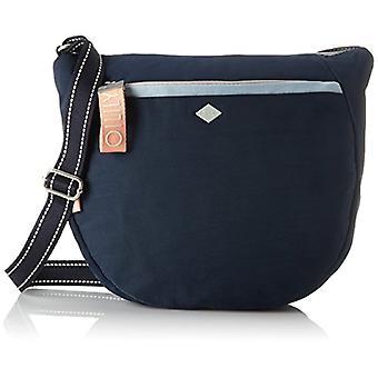 Oilily Groovy Shoulderbag Lvz - Blue Women's Shoulder Bags (Dark Blue) 12x30x34 cm (B x H T)