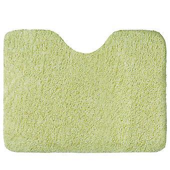 Tapis de fond de toilette en forme de U, doux et confortable, excellent absorbant d'eau, lavable en machine