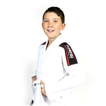 Fumetsu Kids Shield BJJ Gi  White