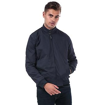 Ben sherman men's navy harrington jacket
