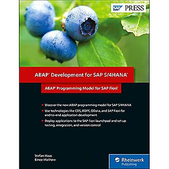 ABAP Development for SAP S/4HANA - ABAP Programming Model for SAP Fior