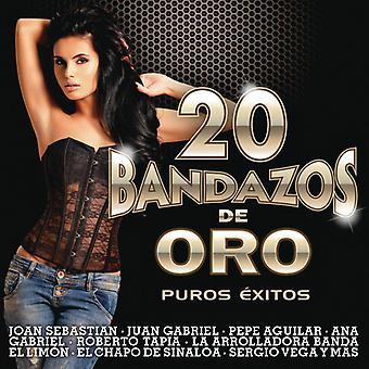 20 Bandazos De Oro [CD] USA import