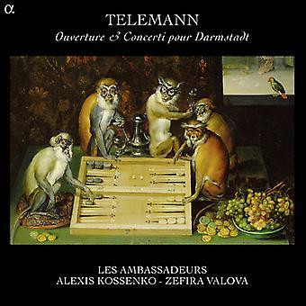 Telemann, G.P. / Kossenko / Valova / Les Ambassadeu - Ouverture & Concerti Pour Darmstadt [CD] USA import