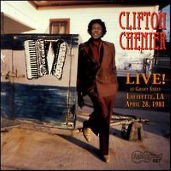 Clifton Chenier - Live at Grant Street [CD] USA import