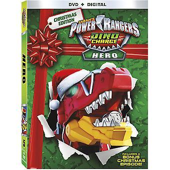 Power Rangers Dino Charge hjälte [DVD] USA import