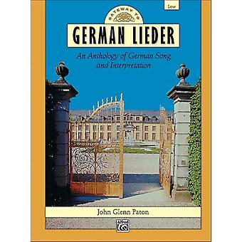 Gateway to German Lieder  Low Voice Comb Bound Book by Edited by John Glenn Paton