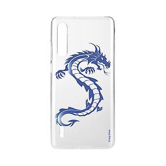 Hull For Xiaomi Mi 9 Lite Myk Blå Dragon