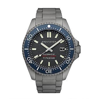 Spinnaker SP-5084-44 Gent's Tesei Titanium Grey Dial Wristwatch