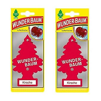Wunder-Baum Scented Spruce (Cherry) 2-Pack