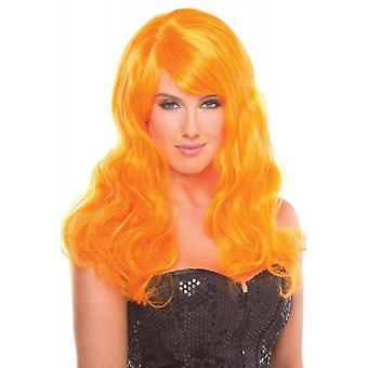 Perruque burlesque - Orange