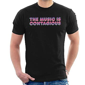 Jem And The Holograms The Music Is Contagious Men's T-Shirt