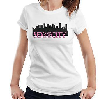 Sex & The City Logo Diamante Women's T-Shirt