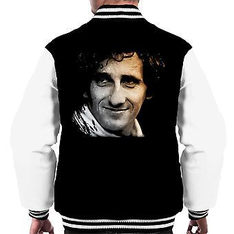 Motorsport images Alain Prost miehet ' s Varsity Jacket