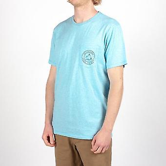 De krul t-shirt van de passagier - blauwe mergel