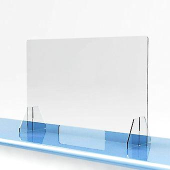 Acryl Sneeze Guard Shield - Schutz safe Counter Top für Restaurant,
