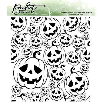 Picket Fence Studios Jack-O-Lyhdyt selkeät postimerkit